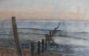 Atardecer atlántico 28,5x18cm 1998  1998