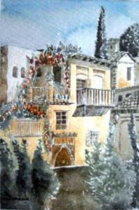 Casa árabe 15x22,5 cm 1996 copia
