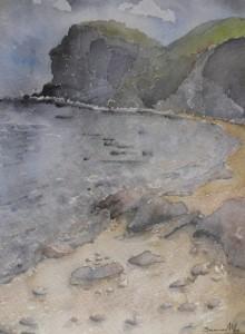 Playa de la Joya 22x30 cm 1997